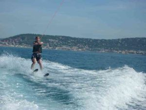 Chris Waterskiing and other watersports